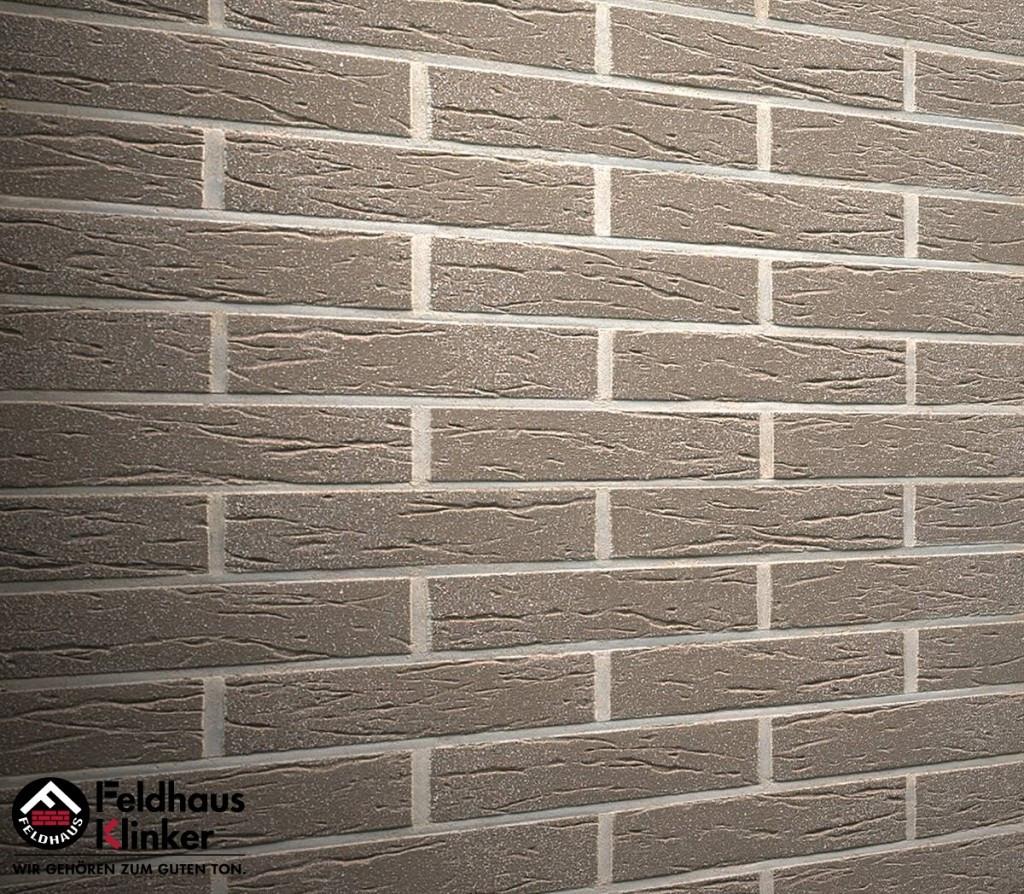 """Клинкерная плитка """"Feldhaus Klinker"""" для фасада и интерьера R835 argo mana"""