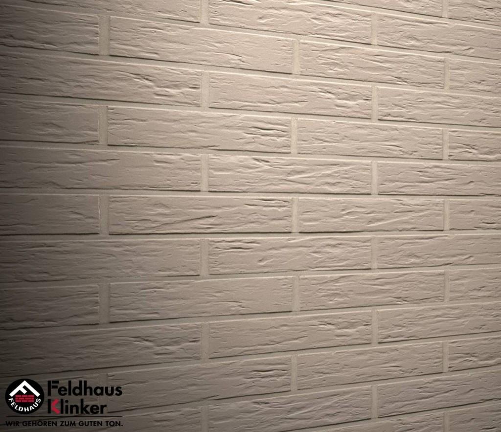"""Клинкерная плитка """"Feldhaus Klinker"""" для фасада и интерьера R840 argo senso"""