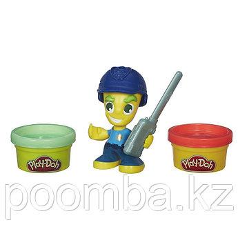 """Набор пластилина Play-Doh Town (Город) """"Фигурки"""" - Полицейский"""