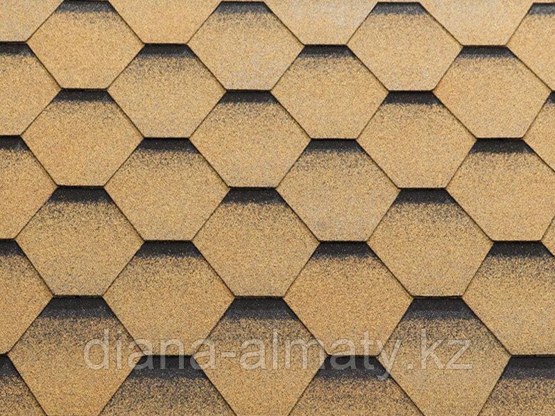 Гибкая черепица KATEPAL (Катепал) KATRILLI Золотой песок