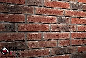 """Клинкерная плитка """"Feldhaus Klinker"""" для фасада и интерьера R663 sintra cerasi nelino"""