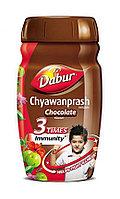 Чаванпраш со вкусом шоколада, Дабур/Dabur, 450 гр, бодрость, память, токсины, шлаки, очищение организма