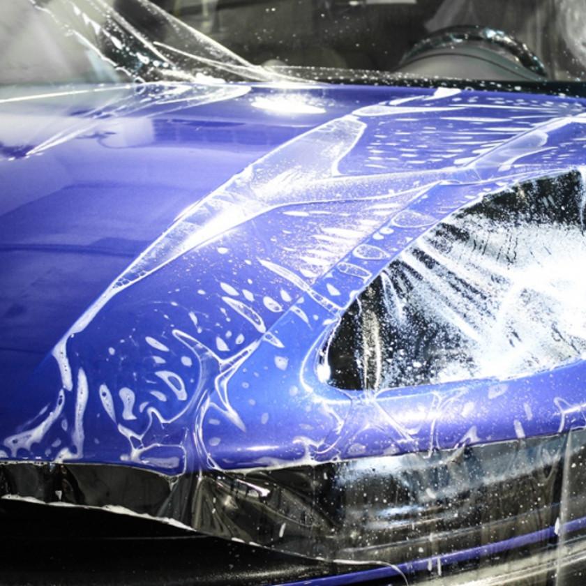 Защита авто от сколов и царапин пленкой