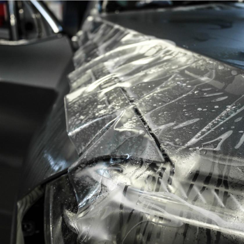 Антигравийная защитная пленка на авто