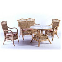 Комплекты плетеной мебели обед...