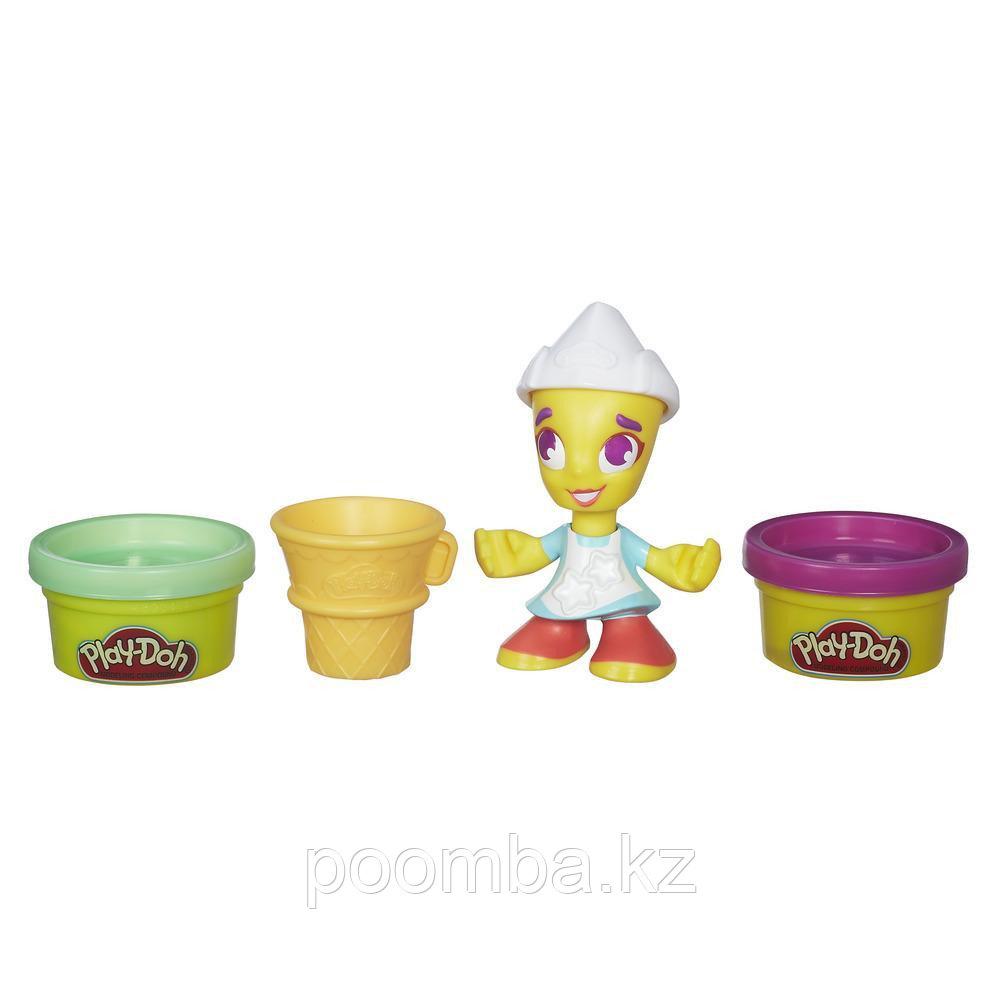 """Набор пластилина Play-Doh Town (Город) """"Фигурки"""" - Мороженщица"""