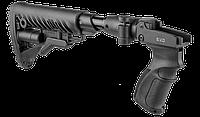Fab defense Приклад телескопический, складной FAB-Defense M4 SVD SB с компенсатором отдачи для СВД