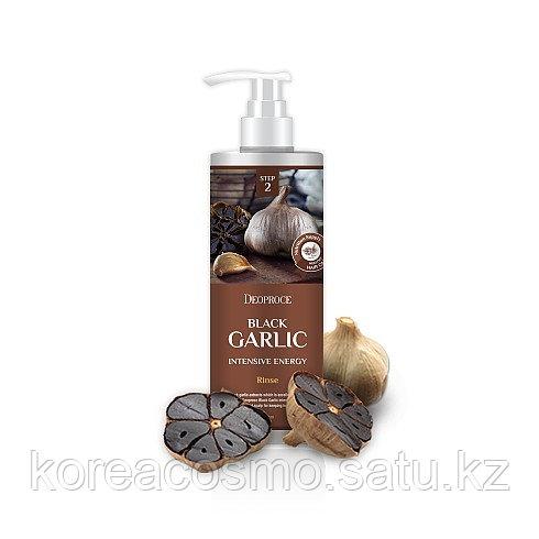 """Интенсивный бальзам от выпадения волос """"Чёрный чеснок"""" Deoproce rinse Black Garlic intensive energy 1000мл"""