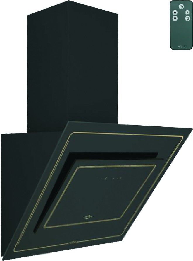 Вытяжка MBS LAVANDA 160 BLACK GLASS