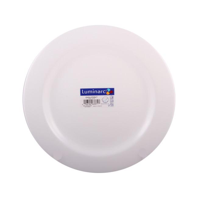 Тарелка обеденная Luminarc  Evolution Peps 270 мм (63371/E6961)
