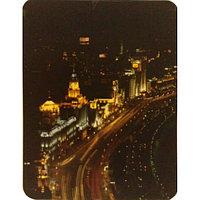 """Коврик для мышки """"Pad for Mouse с изображением """"Пейзаж ночного города"""",Dimensions:300mm x 250mm x 3mm"""""""