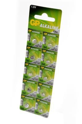 Батарейка часовая GP 164-U10 Alkaline (G1, LR620, R60)
