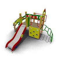 Детский игровой комплекс уличный ИК-01М Размеры 3635 х 3020х2250мм
