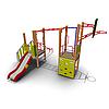 Детский игровой комплекс для улицы ИК-02 Размеры 5710 х 4650х3335мм