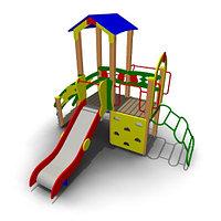 Детский игровой комплексдля улицы  ИК-01 Размеры 3635 х 3020х2870мм