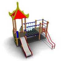 Детский игровой комплекс для улицы ИК-04,1 Размеры3920 х 3705х4065мм