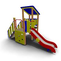Детский игровой комплекс ИК-20 Размеры 3920х2010х2630мм