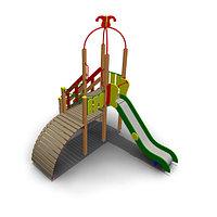 Детский игровой комплекс ИК-17 Размеры 4725х3215х4055мм