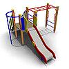 Детский игровой комплекс ИК-19 Размеры 3920х3075х1855мм
