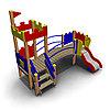 Детский игровой комплекс ИК-21 Размеры 3350х2030х2855мм