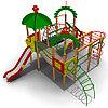 Детский игровой комплекс ИК-28 Размеры 7230х7230х4250мм