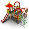 Детский игровой комплекс ИК-28-01 Размеры 7230х7230х4315мм