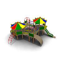 Детский игровой комплекс ИК-31 Размеры 9450х8015х3950мм