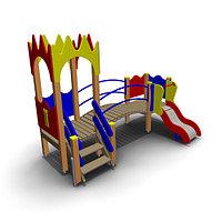 Детский игровой комплекс ИК-32 Размеры 3365х2030х2510мм