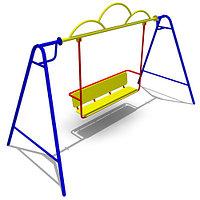 Качели «Диван» с подвесом для улицы Размеры: 3210 x 1390 x 1950 мм