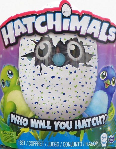 Интерактивная игрушка Hatchimals - Дракоша, зеленый / голубой
