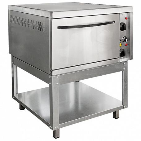 Шкаф жарочный 1-секционный ШЭЖП-1-Н корпус нерж, 840х840(895)х1065(1085) мм