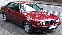 Защита картера BMW 5-й серии Е34  1988-1993 кроме 4wd