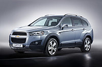Защита картера и КПП Chevrolet Captiva 2.4 2012-
