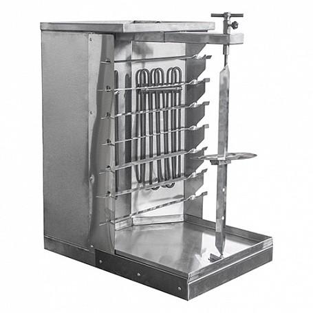 Шаурма-шашлычница электрическая ШШЭ-2 (355х503х645 (665) мм, 3,7 кВт, 220 В)