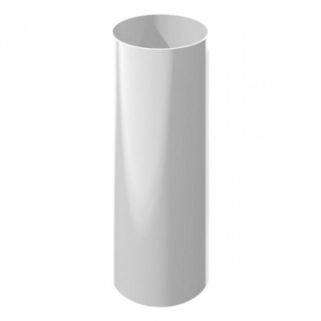 Труба водосточная 85 ⌀ белый (300см)