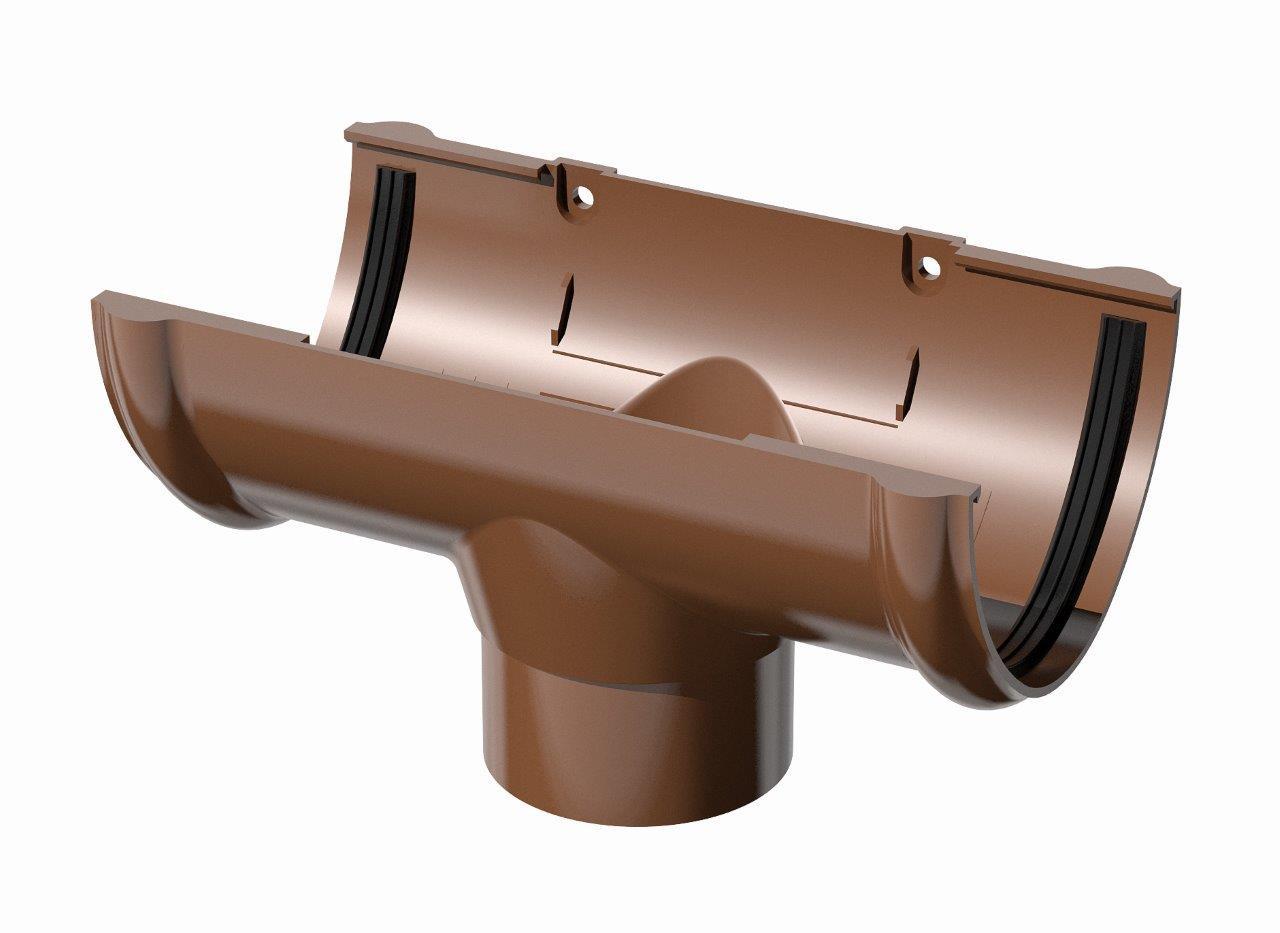 Воронка 120 ⌀х 85 ⌀ коричневый