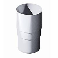 Муфта соединительная 85 ⌀ белый