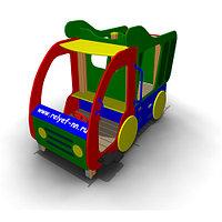 Детское Игровое оборудование «Машинка с горкой» Размеры 3075х1350х1765мм