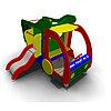 Детское Игровое оборудование «Машинка с горкой на боку» Размеры 2540х2270х1765мм