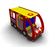 Детское Игровое оборудование «Автобус 1» Размеры 3075х1300х1625мм