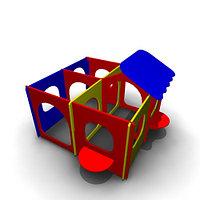 Детское Игровое оборудование «Лабиринт2» Размеры 4145х3435х2330мм