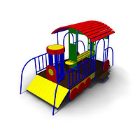 Детское Игровое оборудование «Паровоз» Размеры 3500х2050х1850мм