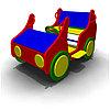 Детское Игровое оборудование «Джип» Размеры 1200х850х770мм
