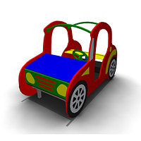 Детское Игровое оборудование «Машина» Размеры 1620х830х1100мм
