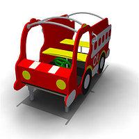 Детское Игровое оборудование «Пожарная машина» Размеры 1960х980х1165мм