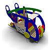 Детское Игровое оборудование «Вертолет» Размеры 3485х1775х2120мм