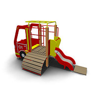 Детское Игровое оборудование «Пожарная» Размеры: 3545х1950х1995мм