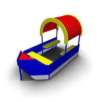 Детское Игровое оборудование «Лодка» для улицы Размеры: 2465х1250х1590мм