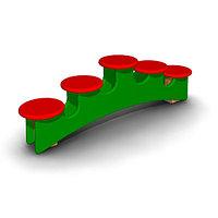 Детское Игровое оборудование для игр на улице Размеры: 1310х415х250мм