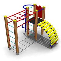 Детское Игровое оборудование для улицы Размеры: 2130х2130х1855мм